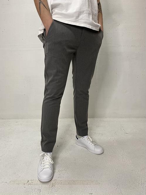 Plain Stretch Chino Grey