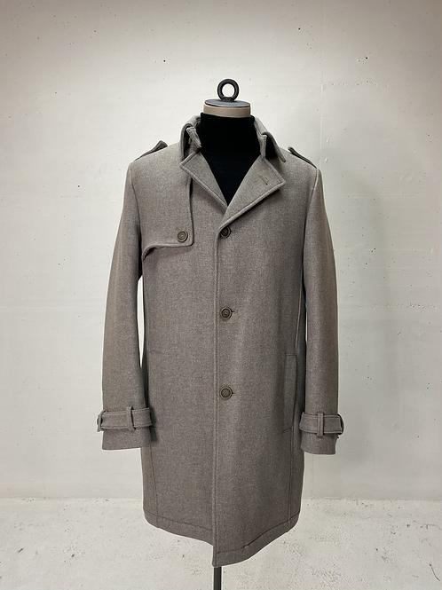 Drykorn Wool Overcoat Grey