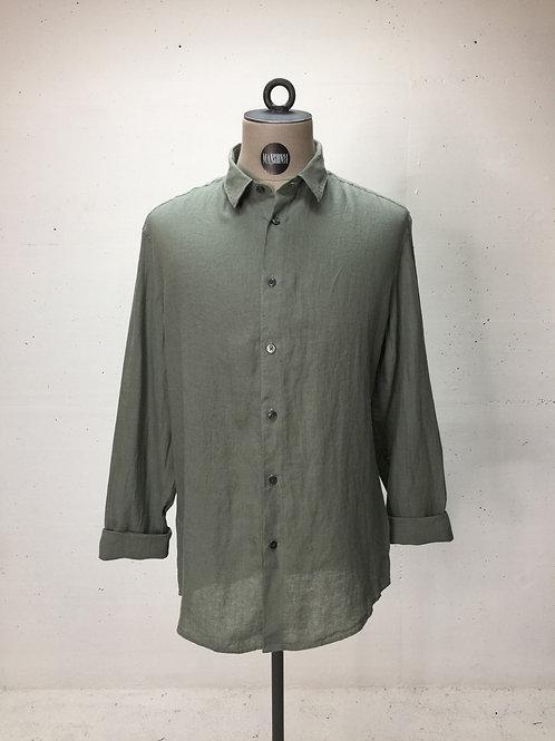 Drykorn L/S Linen Shirt Olive