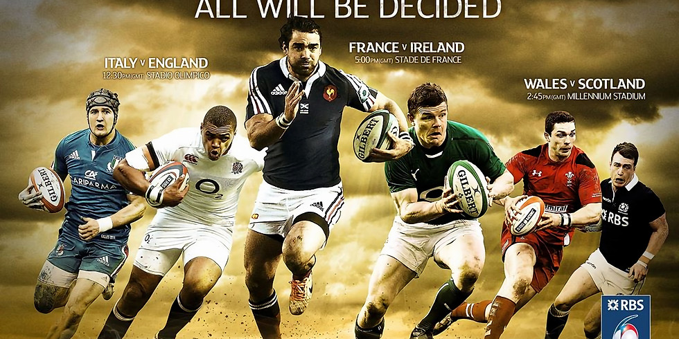Rugby at Mansion24: 6 Nations Super Saturday