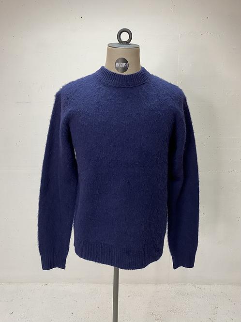 T of S Wool Knit Navy