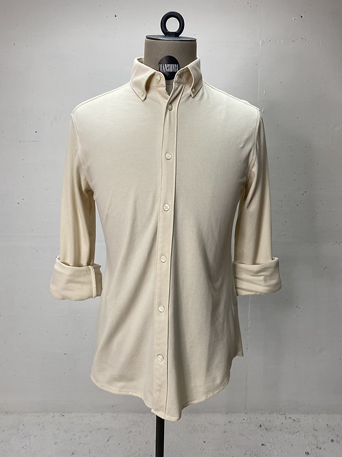 T of S Dressed Stretch Shirt Cream