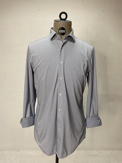 Strellson Dressed Stretch Blue Dot Shirt