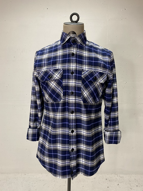 Strellson Flannel Shirt Blue