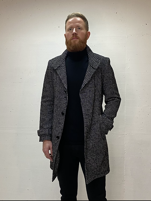 Drykorn Woolen Coat Black Rice