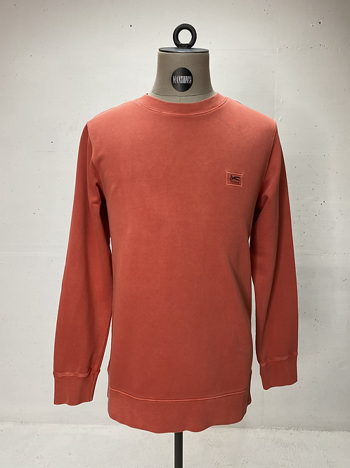 DENHAM Crew Sweat Paprika