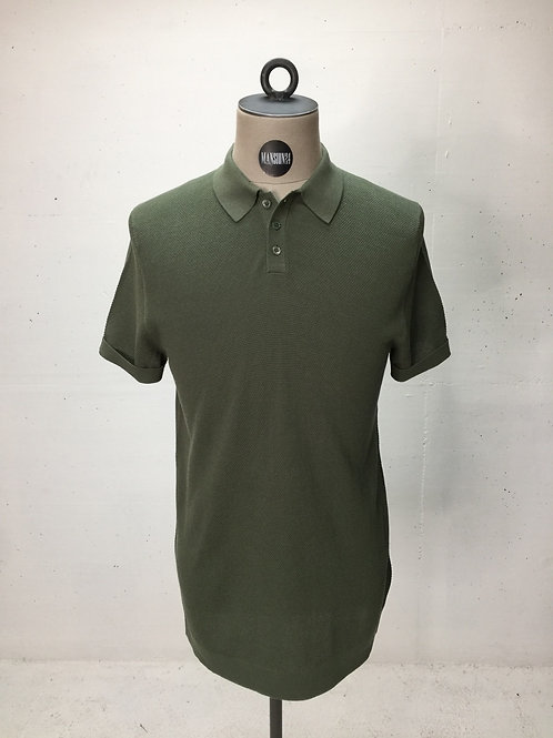 Drykorn Knit Polo Olive