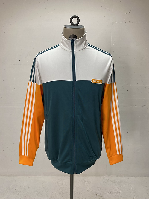 Adidas Traning Jacket White/Teal/Orange