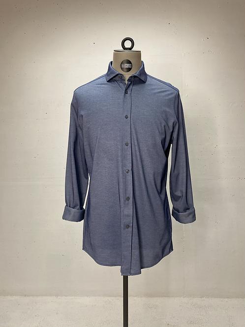 Drykorn Stretch Shirt Blue