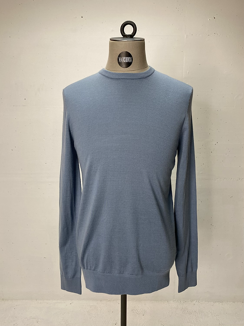 Tiger of Sweden Crew Knit Ice Blue