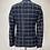 Thumbnail: Drykorn Woolen Check Blazer Navy