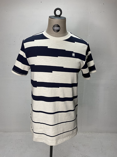G-Star Irr. Stripe T Navy
