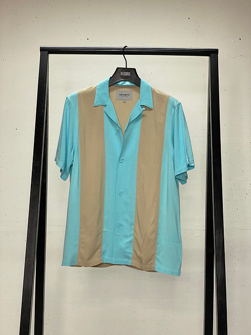 Carhartt S/S Lane Shirt Blue