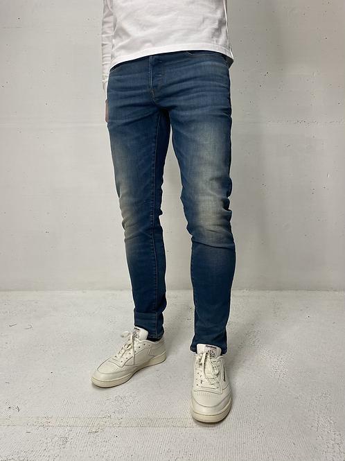 G-Star 3301 Slim Mid Blue Tinted