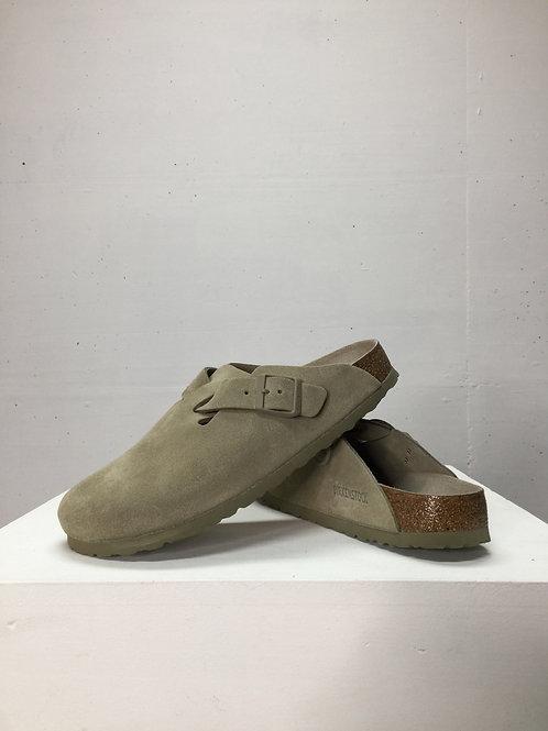 Birkenstock Boston BS Sandal Faded Khaki