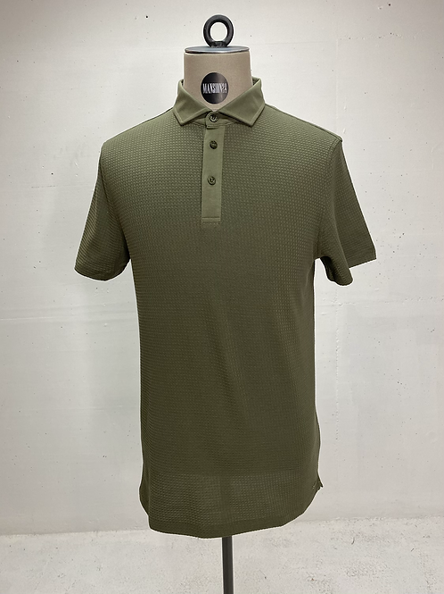 Strellson Structured Polo Army