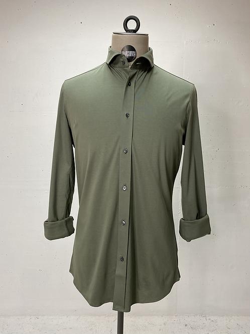 Drykorn Dressed Stretch Shirt Dark Green