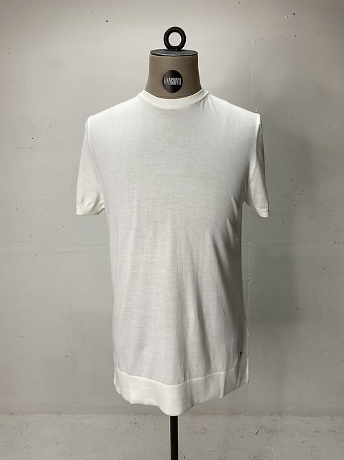 Strellson Knitted Tee Off White