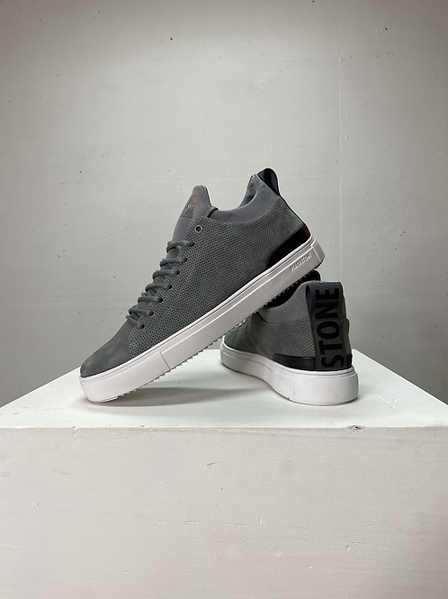 Blackstone Leather Sneaker Grey Flannel