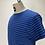 Thumbnail: Klitmøller Pinstripe T Blue