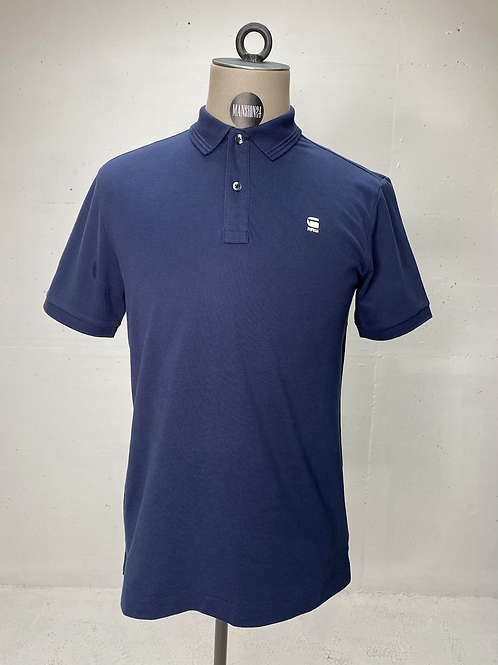 G-Star Piqué Polo Blue