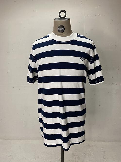 Adidas Originals Stripe T White | Navy