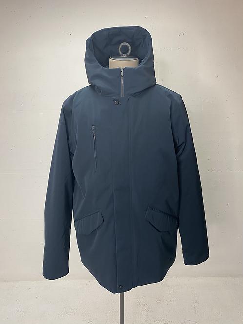 Elvine Hooded Jacket Navy