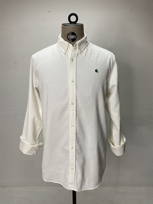 Carhartt Fine Rib Shirt Off White