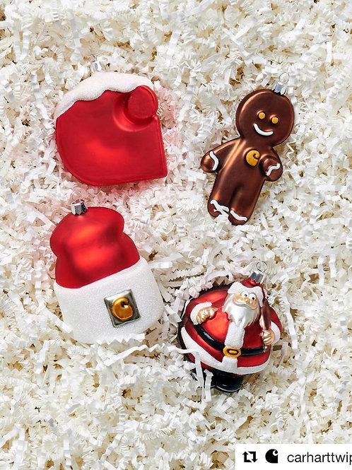 Carhartt Christmas Ornaments Set (4pcs)