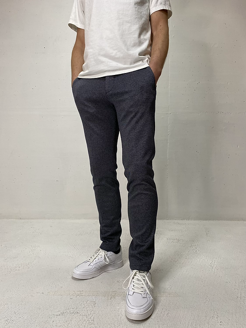 Drykorn Stretch Pants Navy/Grey