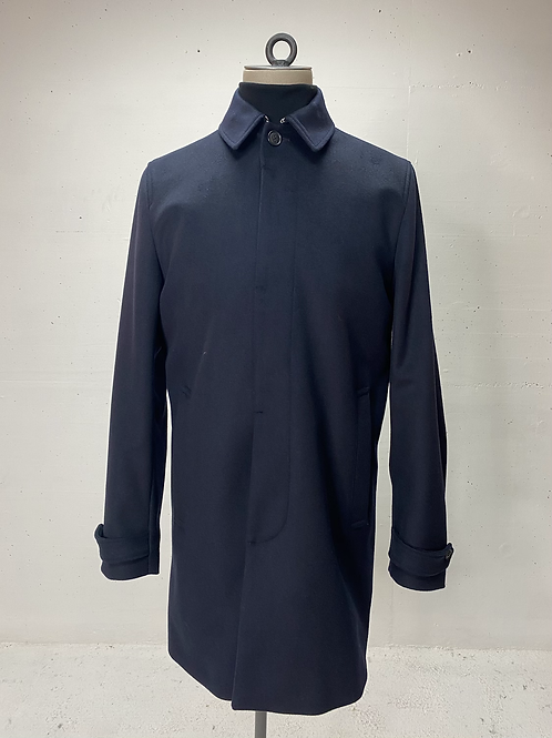 T of S Carred Coat Navy