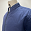 Thumbnail: DENHAM Quilted Overshirt Navy