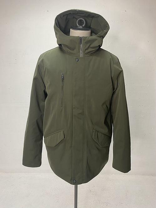 Elvine Hooded Jacket Army