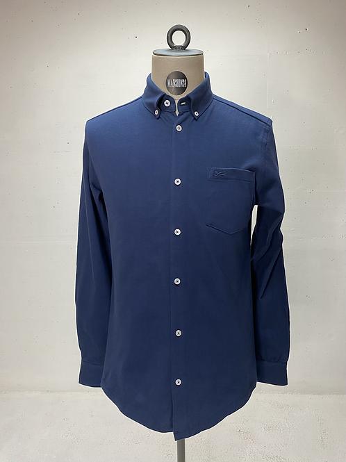 DENHAM Knitted Shirt Blue
