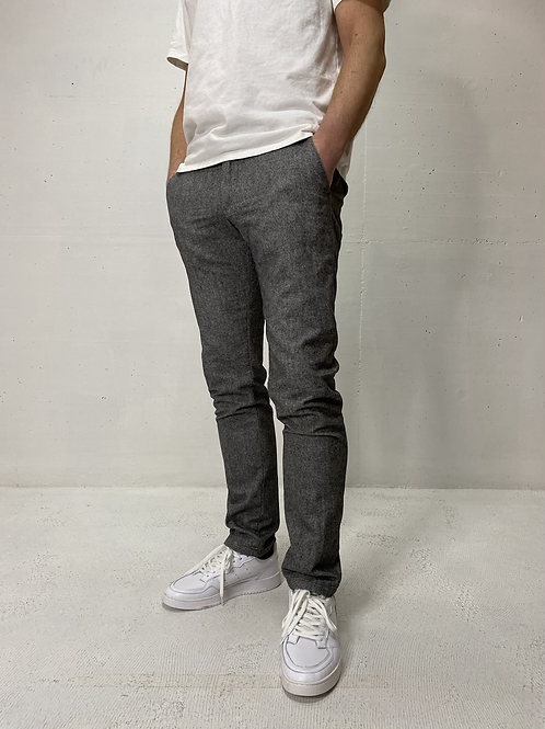 Drykorn Stretch Pants Light Grey
