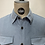 Thumbnail: Tiger of Sweden Babycord Shirt Ice Blue