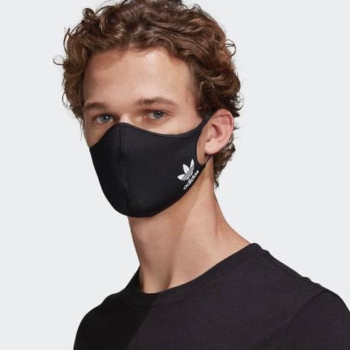 Adidas Originals Face Mask Black (3-pack)
