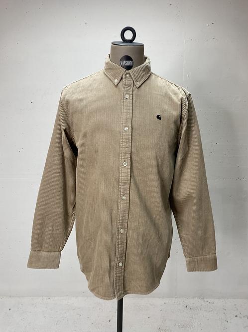 Carhartt Corduroy Shirt Beige