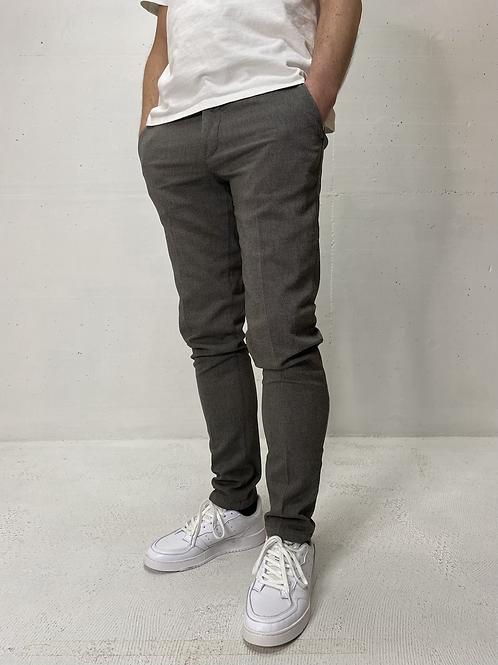 Drykorn Stretch Pants Print Grey/Sand