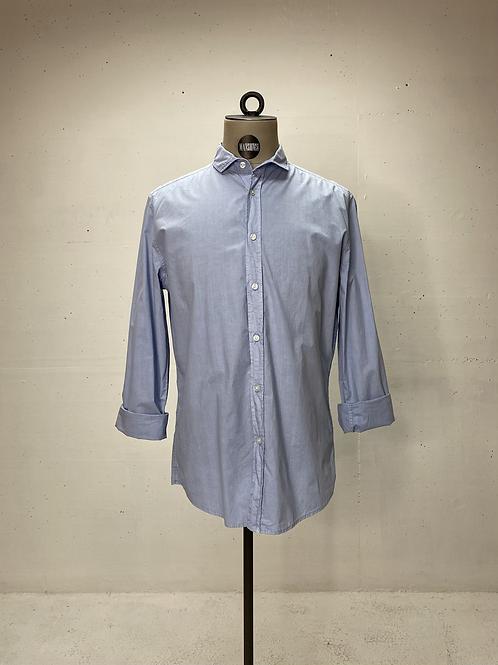 Drykorn Lt. Wght Cotton Shirt Blue