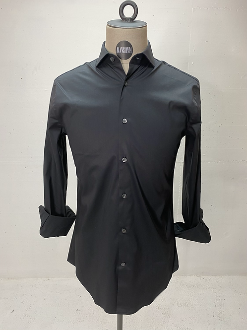 T of S Dressed Stretch Shirt Black