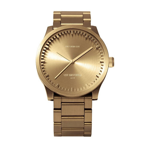 Leff Amsterdam Tube Watch S38 Brass