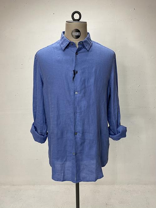Drykorn Linen Shirt Blue