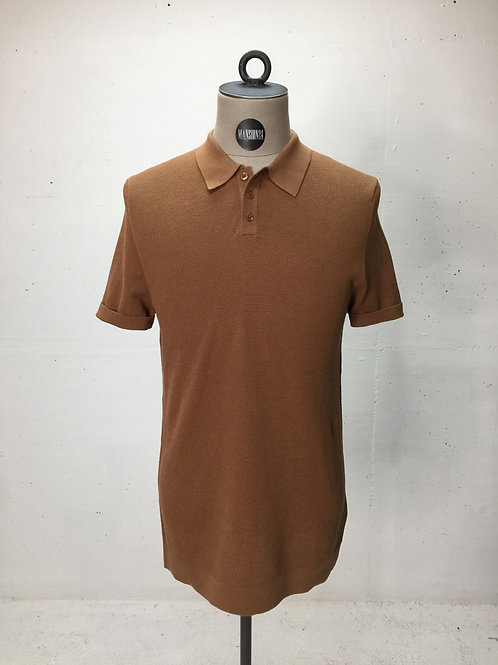 Drykorn Knit Polo Brown