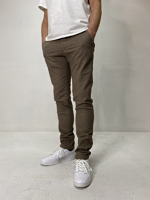 Drykorn Stretch Pants Brown