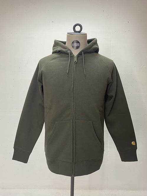 Carhartt Classic Zip Hoodie Army Green