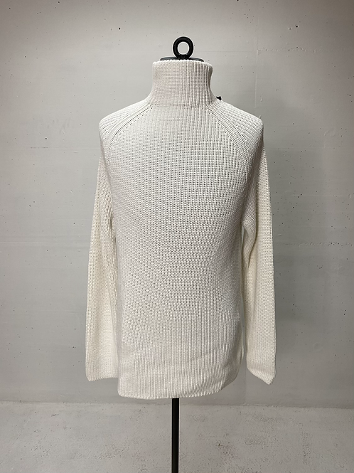 Drykorn Cotton Turtle Knit Off White