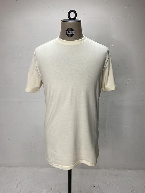 DENHAM Soft Knit T Off White