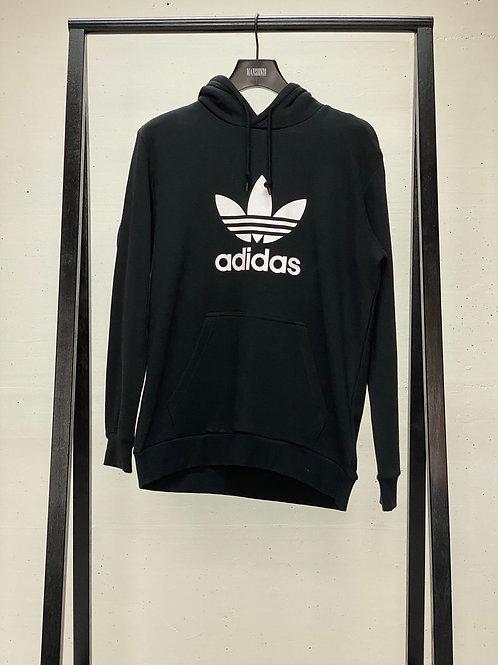 Adidas Hooded Logo Sweat Black