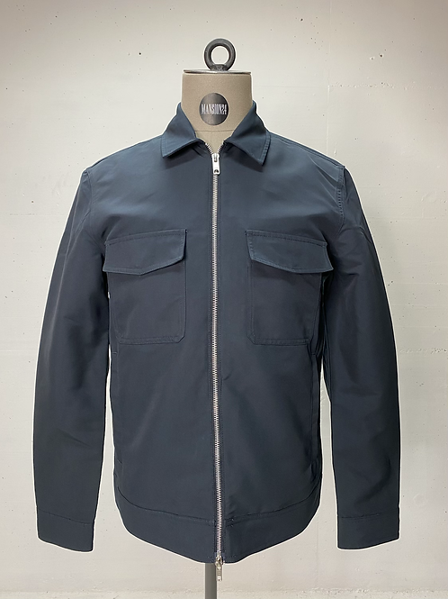 Elvine Pocket Jacket Dark Night